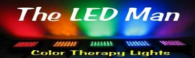 The LED man Color Therapy Lights